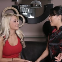 Asa Akira meets new client Brandy Blair