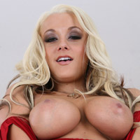 A nice look at Brandy Blair's huge titties